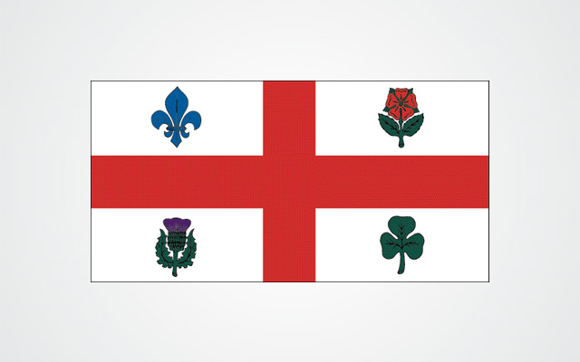 Flag of the City of Montreal